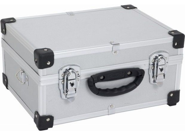 VARO PRM10106S stříbrný hliníkový kufr