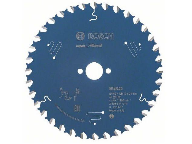 Pilový kotouč na dřevo Bosch Expert for Wood 160x20x1.8mm, 36 zubů Bosch příslušenství