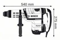 Kombinované pneumatické kladivo SDS-Max Bosch GBH 8-45 DV Professional - 1500W, 12.5J, 8.9kg (0611265000) Bosch PROFI