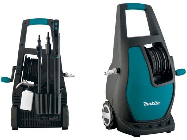 Vysokotlaký čistič Makita HW112 - 1600W, 120bar, 370l/h, 16.2kg
