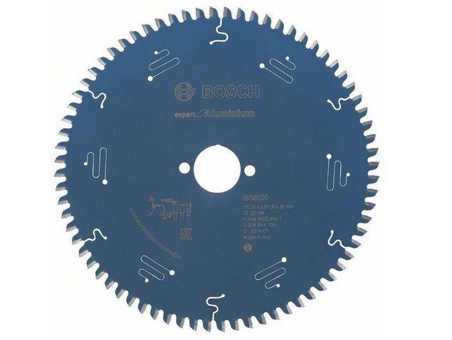 Pilový kotouč na hliník Bosch Expert for Aluminium 210x30x2.8mm, 72 zubů (2608644105)