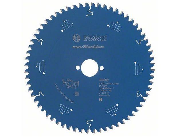 Pilový kotouč na hliník Bosch Expert for Aluminium 230x30x2.8mm, 64 zubů