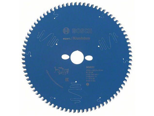 Pilový kotouč na hliník pro pokosové pily Bosch Expert for Aluminium 250x30x2.8mm, 80 zubů