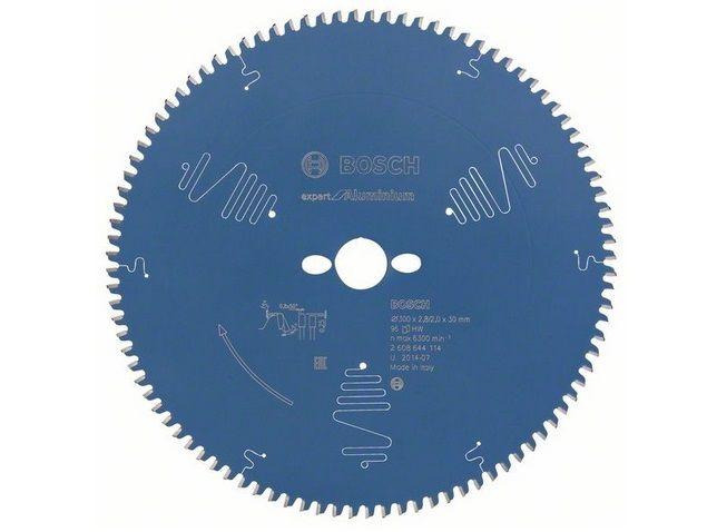 Pilový kotouč na hliník pro pokosové pily Bosch Expert for Aluminium 300x30x2.8mm, 96 zubů