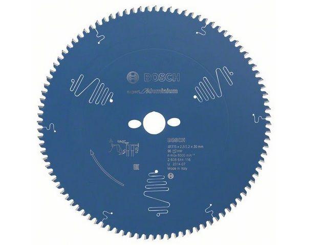 Pilový kotouč na hliník pro pokosové pily Bosch Expert for Aluminium 315x30x2.8mm, 96 zubů