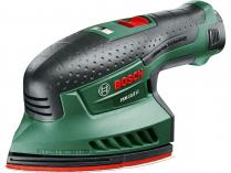 Aku multibruska Bosch PSM 10,8 LI - 1x 10x8V/2.0Ah, 0.7kg, aku vibrační bruska
