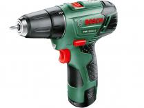 Zobrazit detail - Bosch PSR 10,8 LI-2 - 10.8V/2.0Ah, 22Nm, 0.95kg, kufr, aku vrtačka bez příklepu