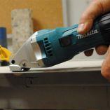 Elektrické nůžky na plech Makita JS1601 - 380W, 1.6mm, 1.4kg