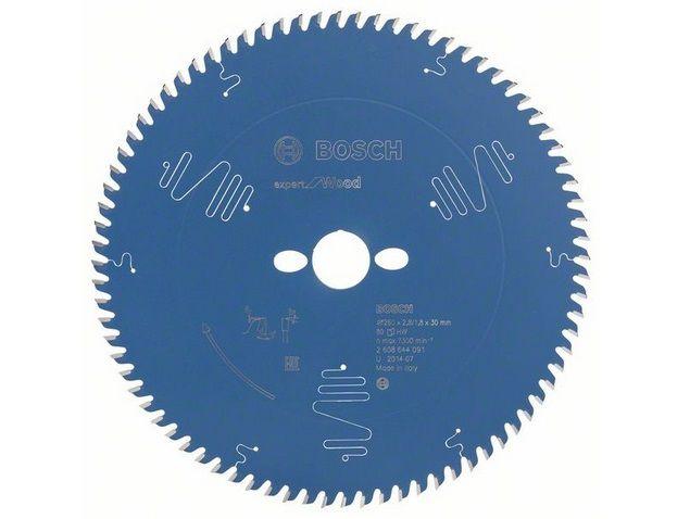 Pilový kotouč na dřevo pro stolní pily Bosch Expert for Wood 260x30x2.8mm, 80 zubů