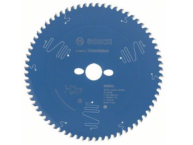 Pilový kotouč na hliník pro stolní pily Bosch Expert for Aluminium 250x30x2.8mm, 68 zubů