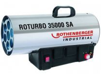 Plynový teplogenerátor Rothenberger ROTURBO 35000SA s regulátorem 18-34kW, IP44