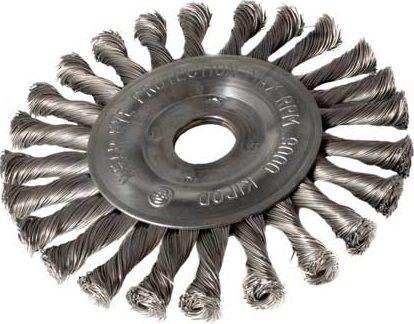 Okružní ocelový kartáč copánkový 178mm, S 0.50, otvor 22,2mm Magg