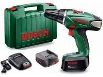 Bosch PSR 14,4 LI-2 - 2x 14.4V/2.5Ah, 40Nm, 1.14kg, kufr, aku vrtačka bez příklepu
