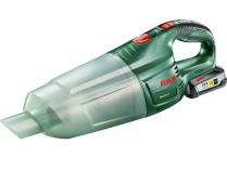 Akumulátorový ruční vysavač Bosch PAS 18 LI - 18V/2.5Ah, 0.65l, 1.3kg