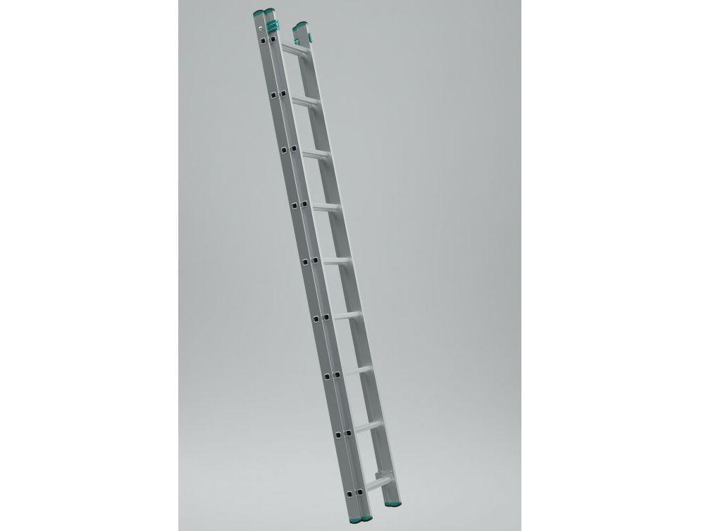 Alve EROSTYL 7209 stupnicový žebřík 256 x 34 cm / 9 příček