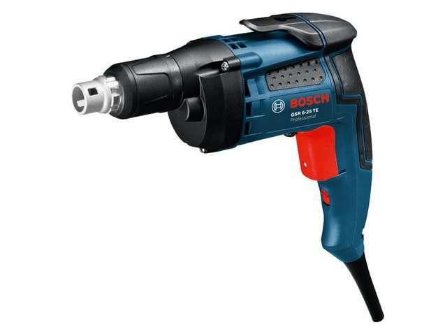 Bosch GSR 6-25 TE Professional elektrický šroubovák na sádrokarton s hloubkovým dorazem