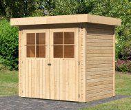 Dřevěný zahradní domek Karibu Merseburg 4