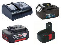 Baterie - Akumulátory a Nabíječky