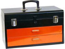 Celokovový kufr na nářadí Mars - 2 zásuvky, 450x275x295mm Mars Svratka