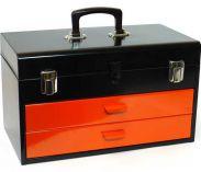 Celokovový kufr na nářadí Mars - vyndavací patro, 450x270x150mm Mars Svratka