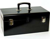 Celokovový kufr na nářadí Mars - vyndavací patro, 450x270x190mm