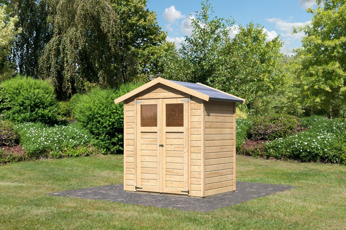Dřevěný zahradní domek Karibu Durin 1