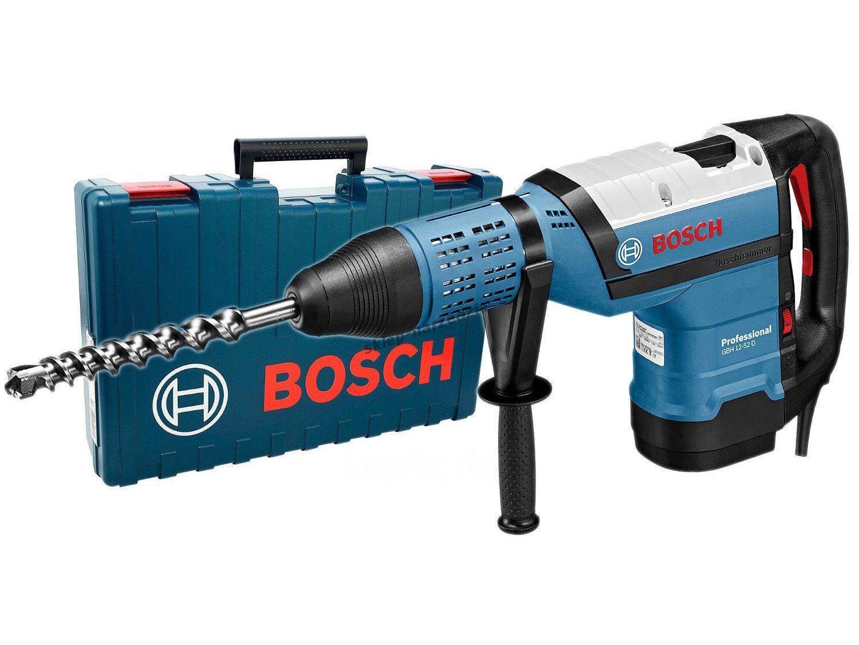 Kombinované pneumatické kladivo SDS-Max Bosch GBH 12-52 D Professional v kufru (0611266100) Bosch PROFI