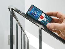 Laserový měřič vzdálenosti - dálkoměr Bosch GLM 50 C Professional s technologií Bluetooth (0601072C00) Bosch PROFI