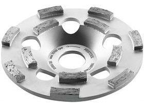 Diamantový brusný hrnec na tvrdé materiály Festool DIA HARD-D130-ST - 130mm pro RG 130, AG 125, RGP 130, AGP 125 (499972)