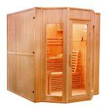 Finská sauna Hanscraft Zen 4 pro 4 osoby + Doprava a dárek ZDARMA (FRANCE SAUNA Zen 4)