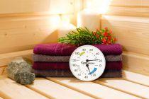 Kombinovaný teploměr a vlhkoměr Classic Karibu do sauny a infrasauny