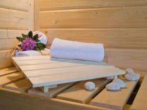 Podhlavník Karibu Classic do sauny a infrasauny 29,5 x 46,2 cm