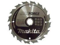Pilový kotouč na dřevo Makita B-08143 Makforce, 160x20mm, 16z