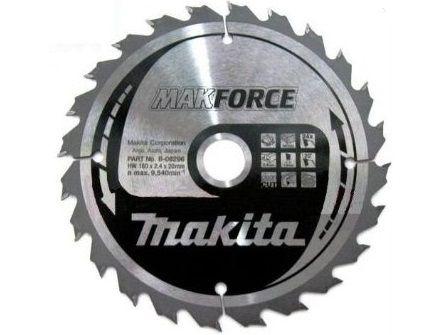 Pilový kotouč na dřevo Makita B-08296 Makforce, 160x20mm, 24 zubů