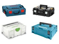 Stohovatelné kufry a Systainery