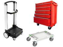 Vozíky na kufry a Dílenské pojízdné ponky