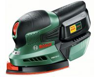 Aku multibruska Bosch PSM 18 LI - 1x 18V/2.0Ah, 1.3kg, aku vibrační bruska