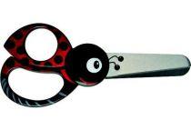 Dětské nůžky Fiskars Animals 13cm, beruška