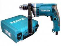Příklepová vrtačka Makita HP1630K - 710W, 3200ot./min., 1.9kg, kufr