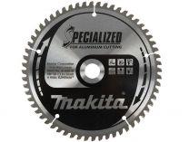 Pilový kotouč na hliník, plast a laminátové dřevo Makita B-09553 Specialized, 160x30mm, 60z