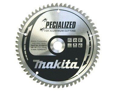 Pilový kotouč na hliník, plast a laminátové dřevo Makita B-09656 Specialized, 260x30mm, 80 zubů
