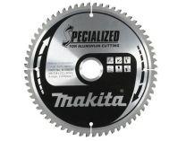Pilový kotouč na hliník, plast a laminátové dřevo Makita B-09634 Specialized, 250x30mm, 80z