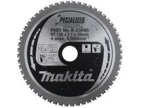 Pilový kotouč na kov Makita B-23363 Specialized, 185x30mm, 56z