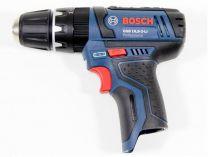 Bosch GSB 12V-15 Professional - 10.8V/12V, 30Nm, 2 rychl., 1.0kg, bez aku, aku vrtačka s příklepem