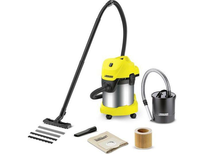Kärcher WD 3 Premium Fireplace kit *EU-II Vysavač na mokré a suché vysávání (1.629-845.0)