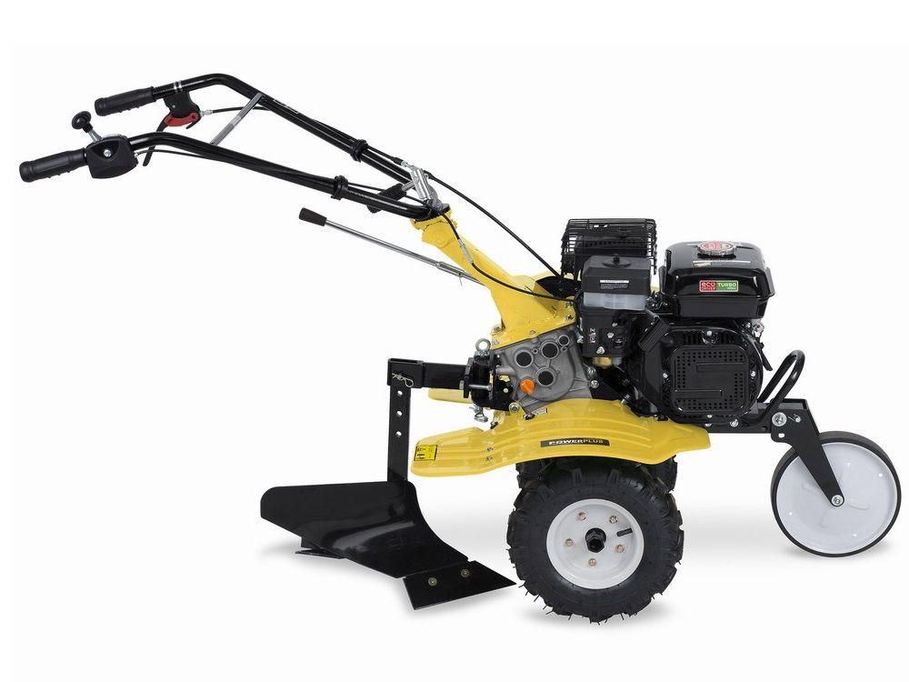 Benzinový kultivátor PowerPlus POWXG7217 - 208cc, 1050mm, pluh, 64kg PowerPlus (VARO)