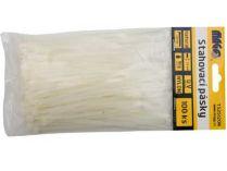 Stahovací pásky Magg - 4,8x370mm natural (25ks)