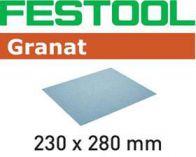 Brusný papír Festool 230x280 P100 GR/50 na laky, barvy, tmely, plniče, dřevo