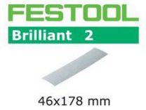 Brusný papír Festool Pocket StickFix STF 46x178/0 P80 BR2/10 - zrnitost P80, na barvy a laky, 10ks