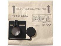 Filtrační vaky Festool FIS-CT 22/5 pro Festool CT 22, 5ks